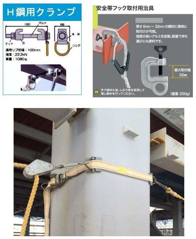 親綱ハンガーと連結用伸縮調整器