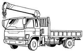 積載形トラッククレーン